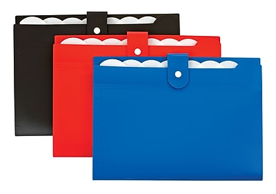 Pendaflex® Poly 7 Pocket Open Top Expanding File, Assorted Colors (41513)