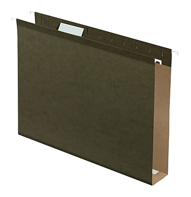 Pendaflex® Box Bottom Hanging File Folders, Letter Size, 2