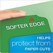 Pendaflex CutLess 3-Tab File Folder, Letter Size, Multicolor, 100/Box (48440)