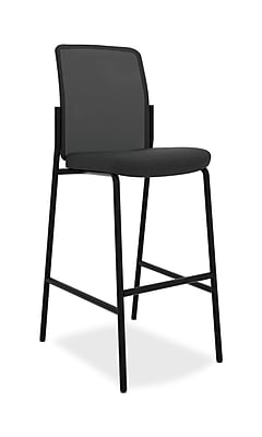 HON Instigate Cafe-Height Stool, Armless, Black NEXT2018 NEXTExpress
