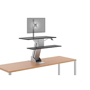 HON® Directional Desktop Sit-to-Stand, Single Monitor Arm NEXT2017 NEXT2Day