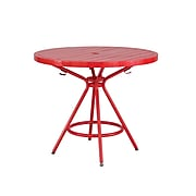 """Safco CoGo Round Table, 30""""Dia., Red (4361RD)"""
