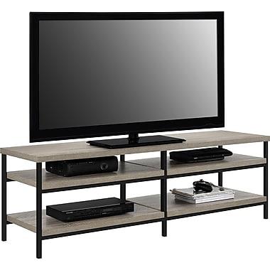 Dorel – Support industriel Elmwood pour téléviseur de 60 po, chêne Sonoma et noir