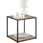 Dorel – Table d'appoint Canton, chêne Sonoma/noir