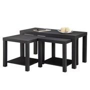 Dorel Parsons Table Bundle, Black