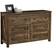 Dorel Farmington 6-Drawer Dresser, Century Barn Pine