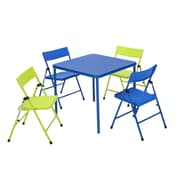 Cosco 5-Piece Kids Folding Table & Chair Set