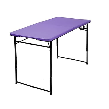 Cosco – Table de 4 pi pliante, violet