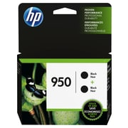 HP 950 Black Original Ink Cartridges, 2/Pack (L0S28AN)