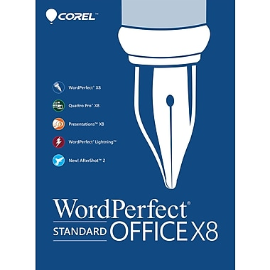Corel WordPerfect Office X8 Standard Upgrade for Windows (1 User) [Download]