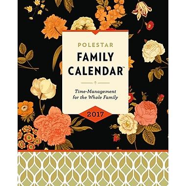 Polestar - Calendrier de famille, 10 po x 8 po, floral