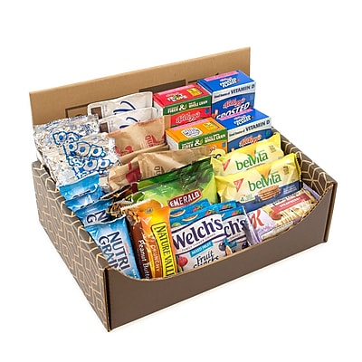 Breakfast Variety Snack Box, 41/Bx