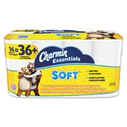 Charmin Essentials Soft 2-Ply  Toilet Paper, White, 200 Sheets/Roll, 16 Giant Rolls/Pack (96608)