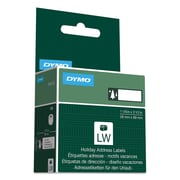 "DYMO® Holiday Labels, 1 1/8"" x 3 1/2"", Green Trees, 1/Roll (1960102)"