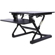 Alera Sit-Stand Lifting Workstation, 26 3/4 X 31 X 19 5/8, Black
