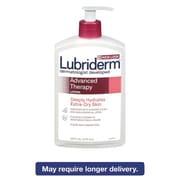 Lubriderm® Advanced Therapy Moisturizing Hand and Body Lotion, 16 oz, Pump Bottle, 12/Carton (48322)