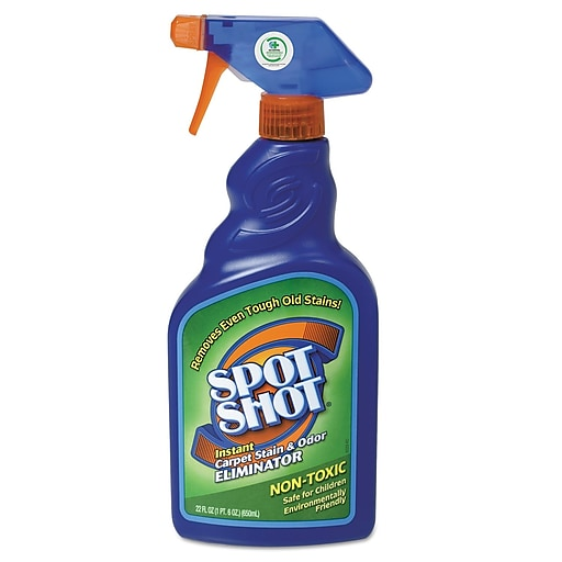 WD-40® Spot Shot Instant Carpet Stain and Odor Eliminator, 22 oz., 6/Pack