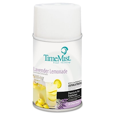 TimeMist® Metered Aerosol Fragrance Dispenser Refills, 6.6 oz, Lavender Lemonade, Each (1042757EA)
