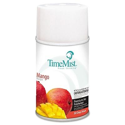 TimeMist® Metered Aerosol Fragrance Dispenser Refills, 6.6 oz, Mango, Each (1042810EA)