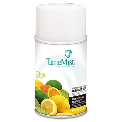 TimeMist® Metered Aerosol Fragrance Dispenser Refills, 6.6 oz, Citrus, Each (1042781EA)