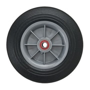 """Magliner Aluminum Hand Truck Accessories - 8"""" Wheel, Puncture Resistant, Wheel Material: Solid Rubber, 2/Pack (11825)"""