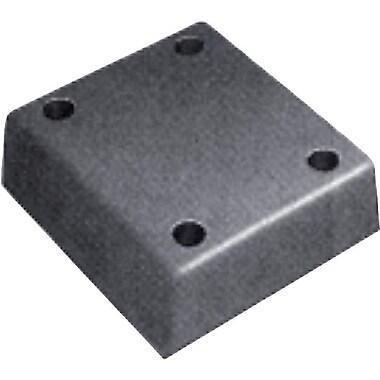Iron Guard Safety – Garde quai en caoutchouc moulé en R, 4 x 13 x 12 po