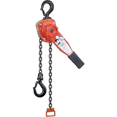 CM Industries Lever Hoist - Series 653 Lever, 10' Lift, 3000 Lbs. (1.5 Tons) (5316)