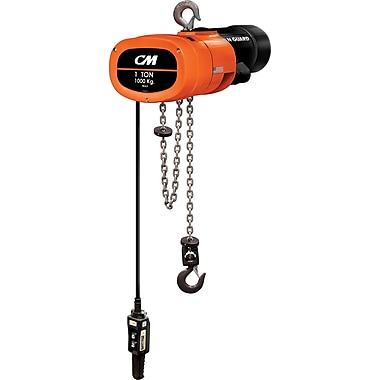 CM Industries Man Guard Electric Chain Hoists, 16 FPM (MG501610RH1)