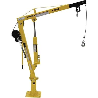 Vestil – Chariot-grue pour conducteur de treuil, 1000 lb. (0,5 tonne), chaîne en acier, 52 po (WTJ-4-G)