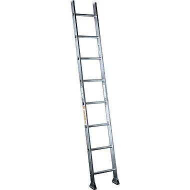 Featherlite Industrial 0.46' Heavy-Duty Aluminum Straight Ladder, Aluminium (4118)