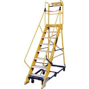 "Louisville Ladder Safeguard Non-Conductive Mobile Maintenance Platform, 114-1/2"" x 28"" x 17"", FW2412"