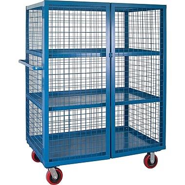 Kleton Wire Mesh Truck, 3-Shelf, 30