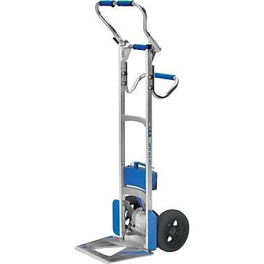 Wesco – Diable monte-marches en aluminium Liftkar, plié en L, roues pneumatiques, 30 lb (274147)