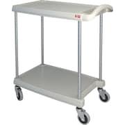 Mycart – Chariot utilitaire, 300 lb, 2 tablettes, 16 x 35 1/2 po (MY1627-24G)