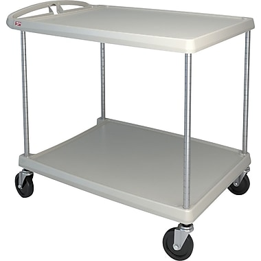 Mycart Utility Cart, 400 Lbs, 2-Shelf, 26