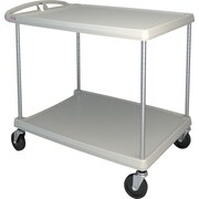 Mycart – Chariot utilitaire, 400 lb, 2 tablettes, 26 x 36 7/8 po (MY2636-25BL)
