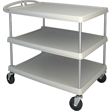 Mycart – Chariot utilitaire, 500 lb, 3 tablettes, 26 x 36 7/8 po (MY2636-35G)