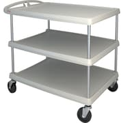 "Mycart Utility Cart, 500 Lbs, 3-Shelf, 26"" x 36-7/8""(MY2636-35G)"