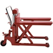 """Wesco 35"""" Pallet Lifter, 44"""" L x 27"""" W, Red (272153)"""