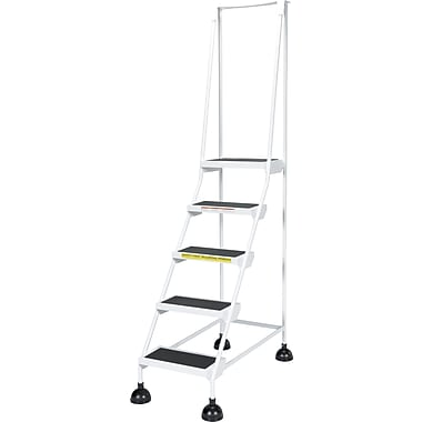 Vestil Light-Duty Stop-Step Ladder, 47-11/16