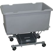 Techstar Plastics Scale Carts, 5 Cu. ft., 300SC GREY