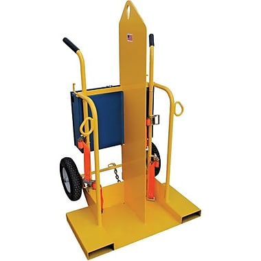 Vestil Steel Welding Torch Cart (CYL-2)