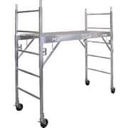 """Metaltech Mobile Work Scaffolding, Aluminum, 75"""" x 74"""" (CAISC)"""