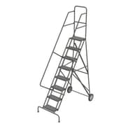 "Tri-Arc Roll & Fold Rolling Ladder, 8 Step, 86"" Height"