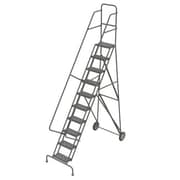"Tri-Arc Roll & Fold Rolling Ladder, 10 Step, 106"" Height"