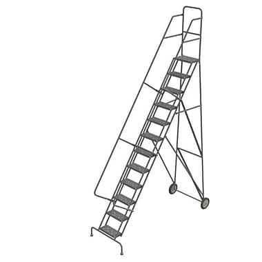 Tri-Arc Roll & Fold Rolling Ladder, 12 Step, 126