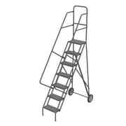 "Tri-Arc Roll & Fold Rolling Ladder, 7 Step, 76"" Height (KDRF107162)"