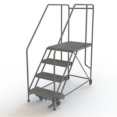 Tri-Arc – Plateforme de travail mobile, 4 marches, 40 x 35 po, WLWP142436SL