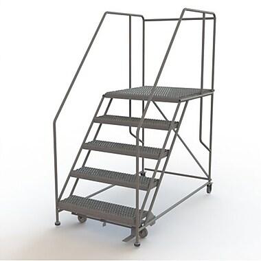 Tri-Arc – Plateforme de travail mobile, 5 marches, 50 x 36 po (WLWP153636SL)