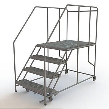 Tri-Arc – Plateforme de travail mobile, 4 marches, 40 x 48 po (WLWP143648SL)